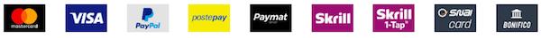 metodi pagamento snai