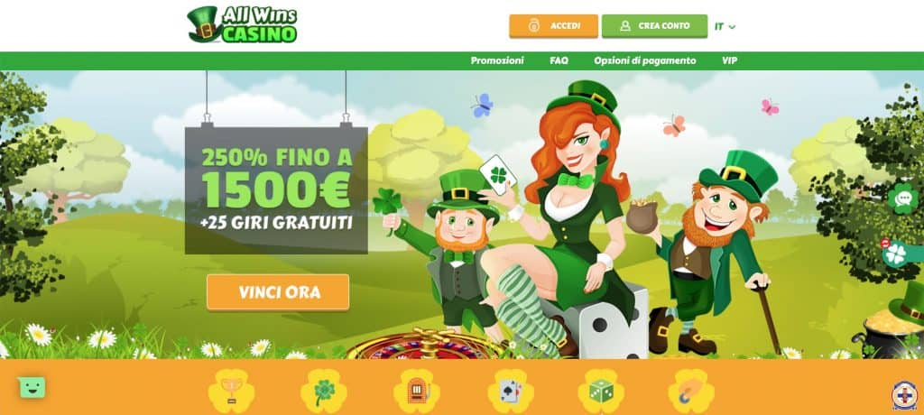home page allwinscasino