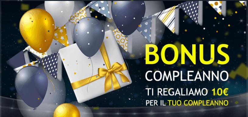 bonus compleanno 10 euro